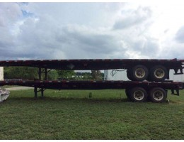 2000-2001 FLATBED TRAILERS FRUEHAUF 45x96 - STOCK: 81720